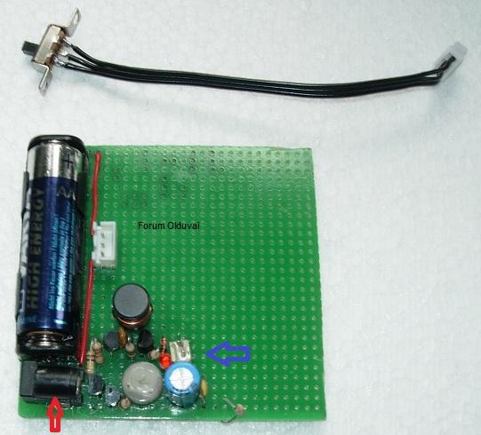 Un projet de compteur geiger à transistors Carte110
