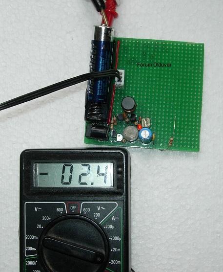 Un projet de compteur geiger à transistors Couran11
