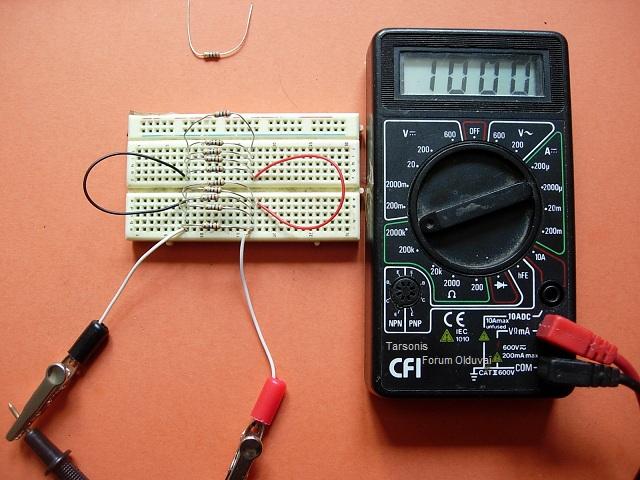 Un projet de compteur geiger à transistors Testtk10