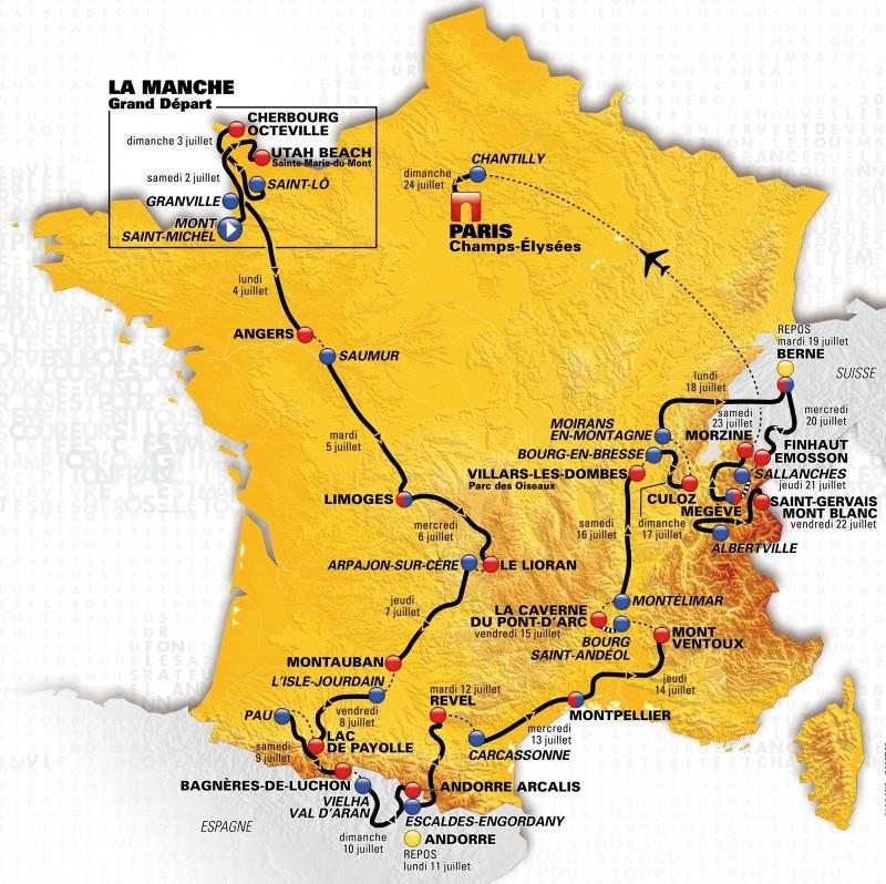 Le Tour de France: la bande-annonce Tdf20110