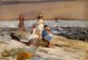 La Plage : Artistes peintres, illustrateurs, photographes... - Page 2 Childr10