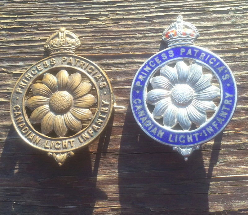 Some CEF cap badges and sweethearts Img_4221