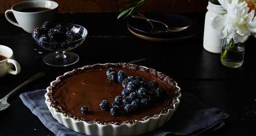 Torta cruda (e veg) con cioccolato e avocado Scherm46