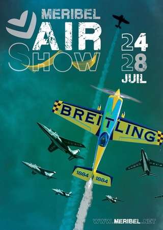 Meribel Air Show 2016 avec J.F.Clervoy et Bertrand Piccard. 24 au 28/07/16. 13178920