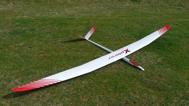 [ VENDU ] XPLORER 1  Vé 3,50 m  Electro F5J P1020610