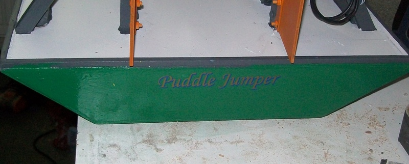 Puddle jumper MK2 the build Stern_10