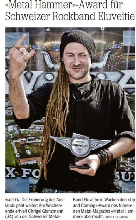 Eluveitie ganham prémio da revista alemã Metal Hammer 39059_10