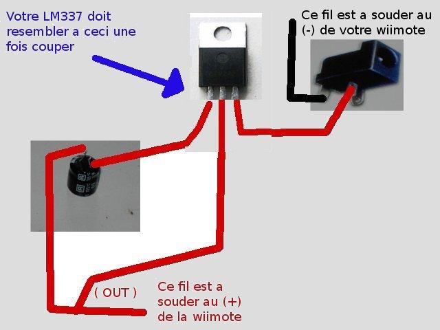 Tuto pour faire une wiimote avec chageur USB intégré ou jouable sans pile Montag10