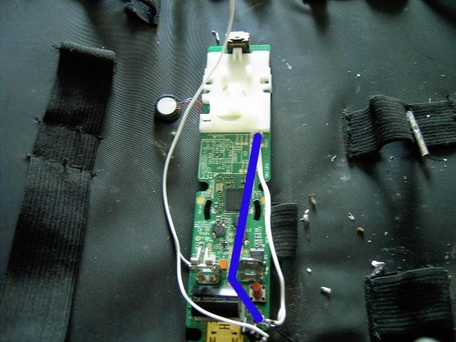Tuto pour ajouter un bouton rapide fire (turbo) sur une wiimote avec LED témoin Pict0110