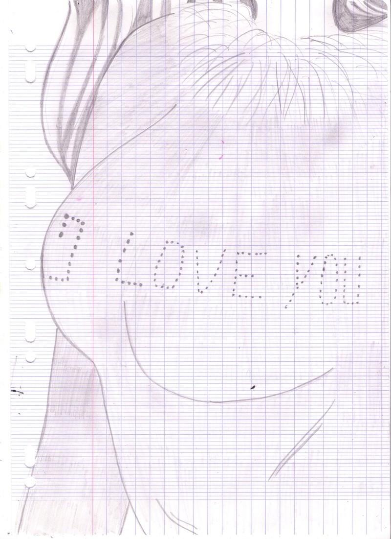 dessin femme crayon noir  Dessin83