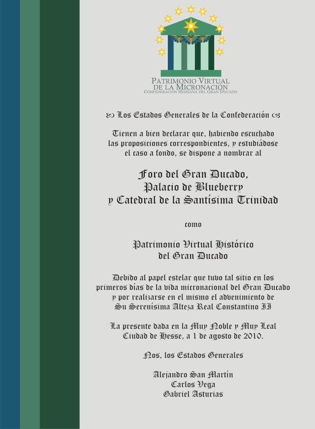I Foro del Gran Ducado y Palacio de Blueberry - Portal Gd-con10