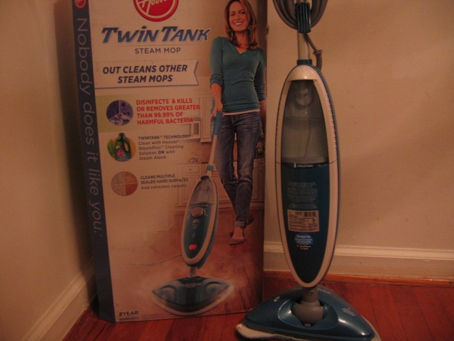 Hoover TwinTank Steam Mop Review 00910