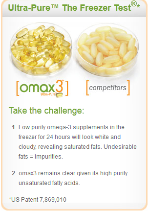 OMAX3 Ultra-Pure Omega3 Supplement Review and Giveaway ends 8/24 Omax10