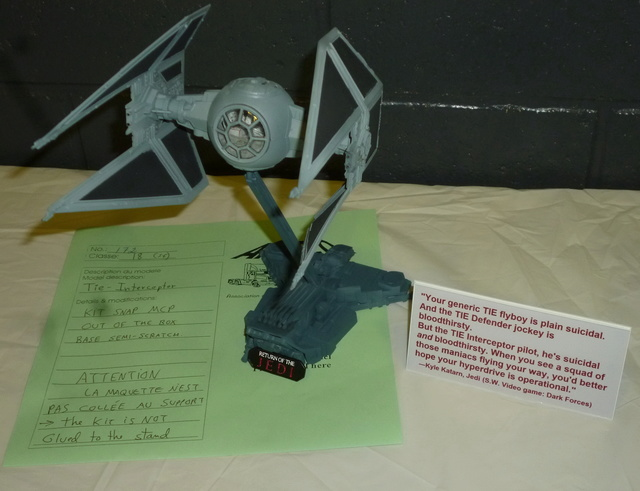 Tie Interceptor , MPC Amro2010