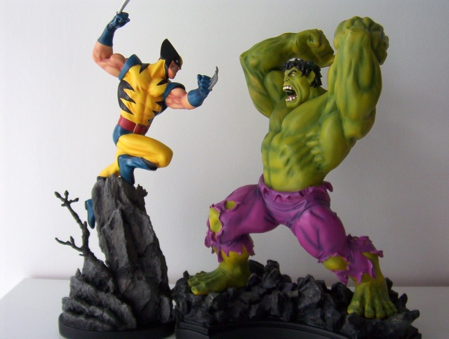HULK VS WOLVERINE Maquette X-men_10