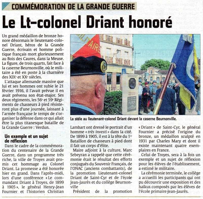 stèle du lieuteant-colonel Driant Img29810