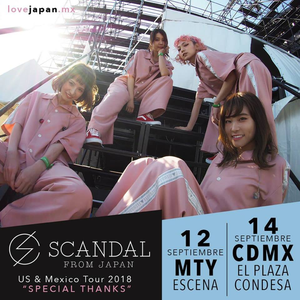 "SCANDAL US & Mexico Tour 2018 ""Special Thanks"" - Page 8 35514110"