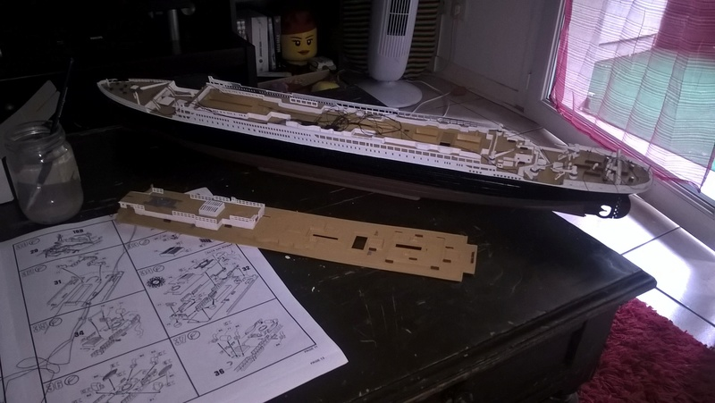 Titanic 1/400 Revell Wp_20112