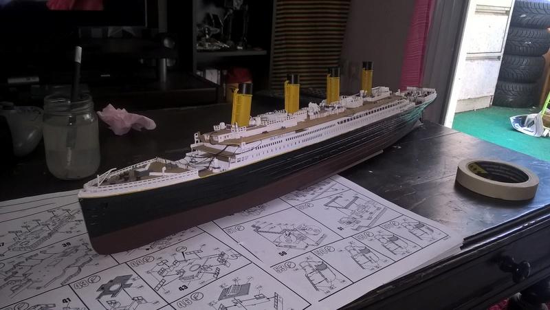 Titanic 1/400 Revell Wp_20113