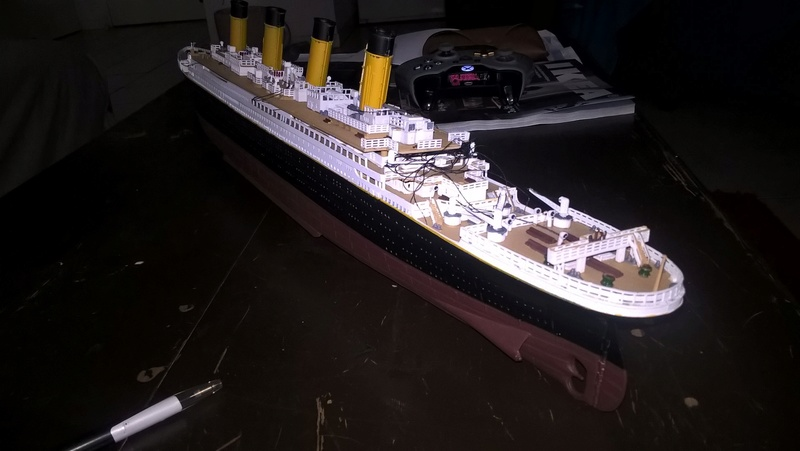 Titanic 1/400 Revell - Page 2 Wp_20115