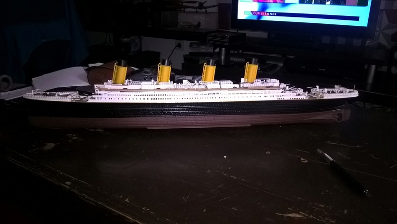 Titanic 1/400 Revell - Page 2 Wp_20116
