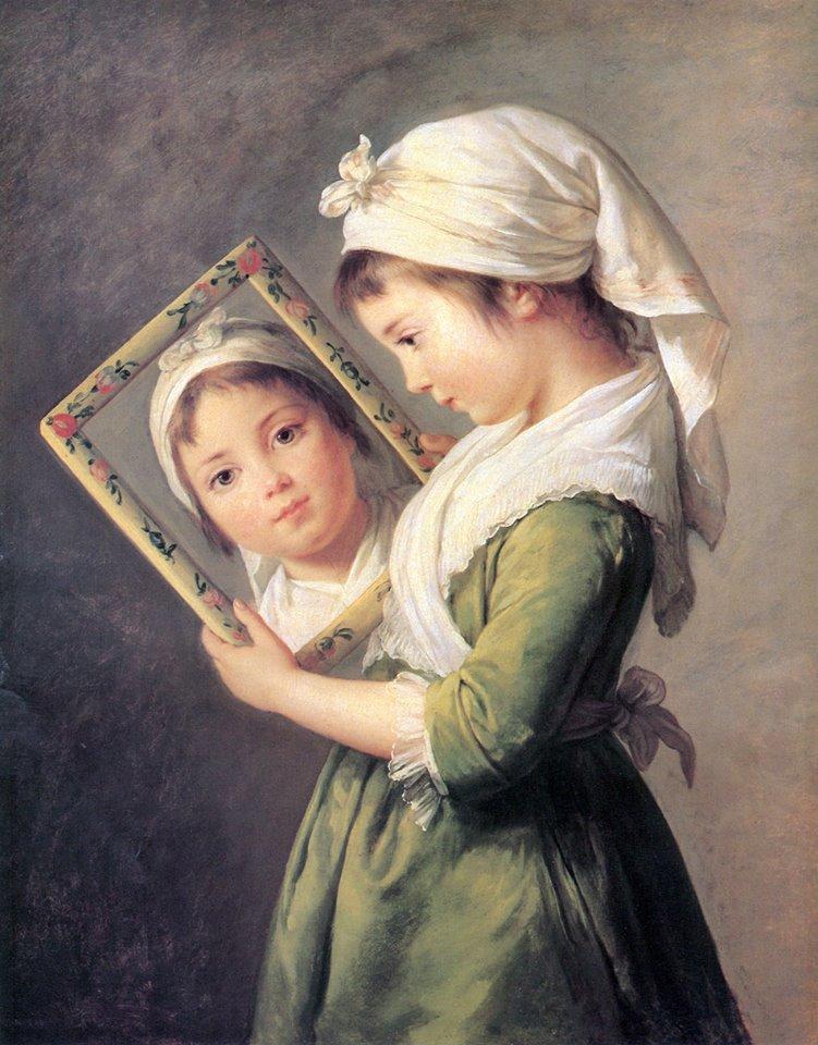 Le miroir dans la peinture Le_bru10