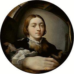 Le miroir dans la peinture Parmig10