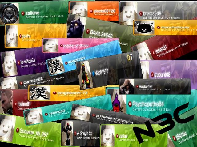 Images réalisés pour les Membres de la Team N3C N3c14