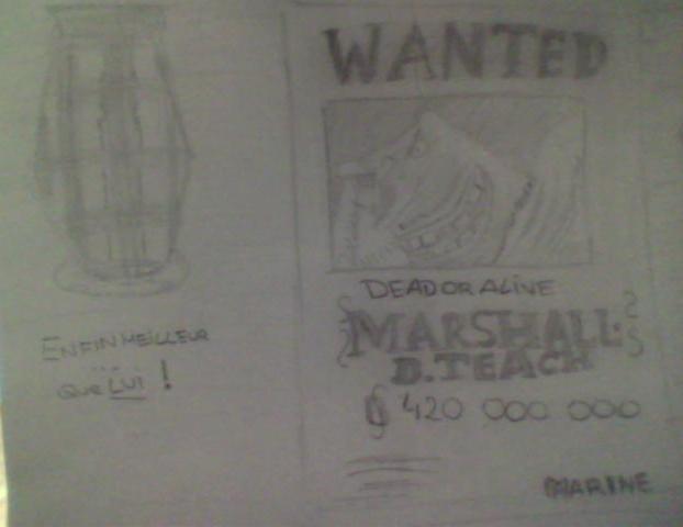 Battle dessin One Piece ( les dessins ) Cotega11