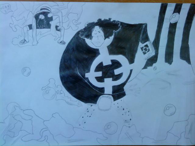 Battle dessin One Piece ( les dessins ) Dsc04011