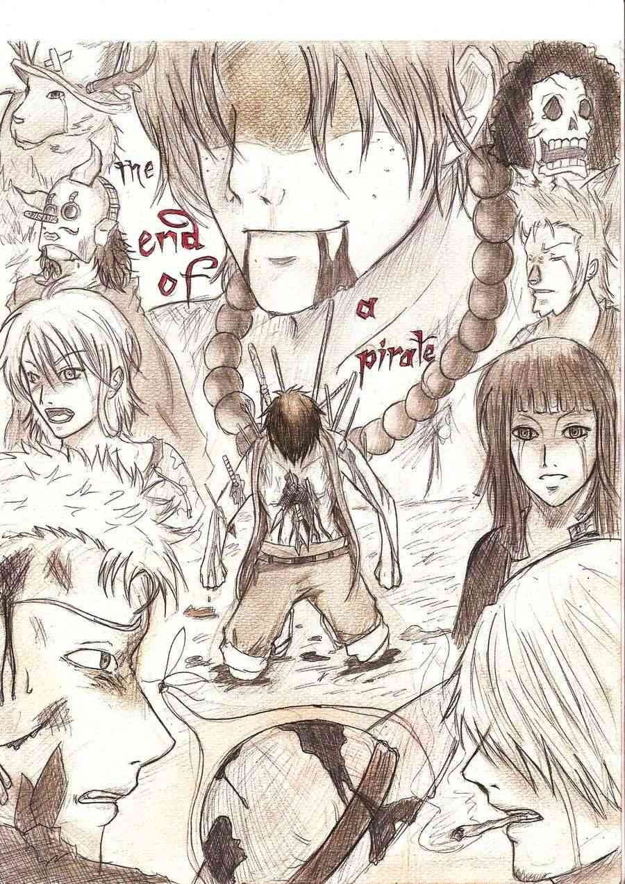 Battle dessin One Piece ( les dessins ) Luffy_16