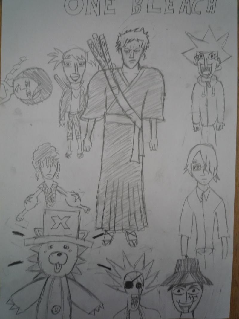 Battle dessin One Piece ( les dessins ) P1000412
