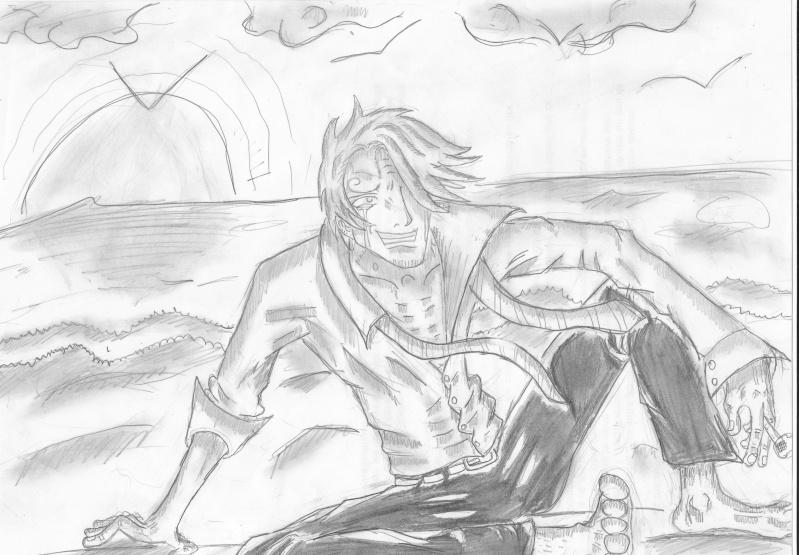 Battle dessin One Piece ( les dessins ) Sandy_12