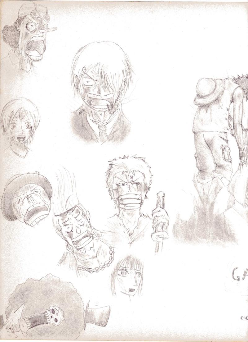 Battle dessin One Piece ( les dessins ) Scan0219