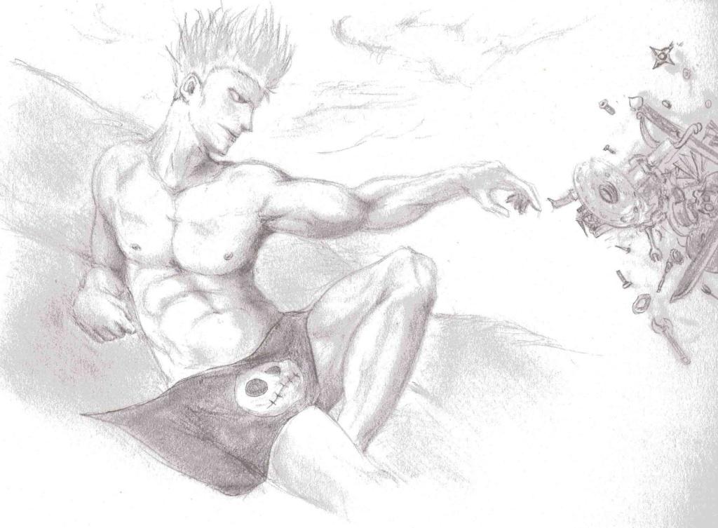 Battle dessin One Piece ( les dessins ) Scan0221