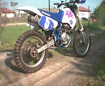 Parafango cross posteriore Drcros12