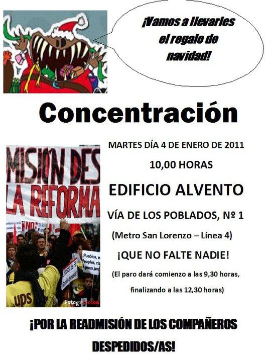 Concentración en las oficinas centrales de UPS, Martes dia 4 de Enero de 2011 a las 10:00 horas ¡POR LA READMISIÓN DE LOS COMPAÑEROS DESPEDIDOS! 16359610