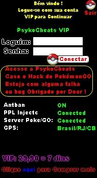 Pokémon GO Hack VIP Trainer [ GPS HACK + Coins HACK E ETC ] 3310