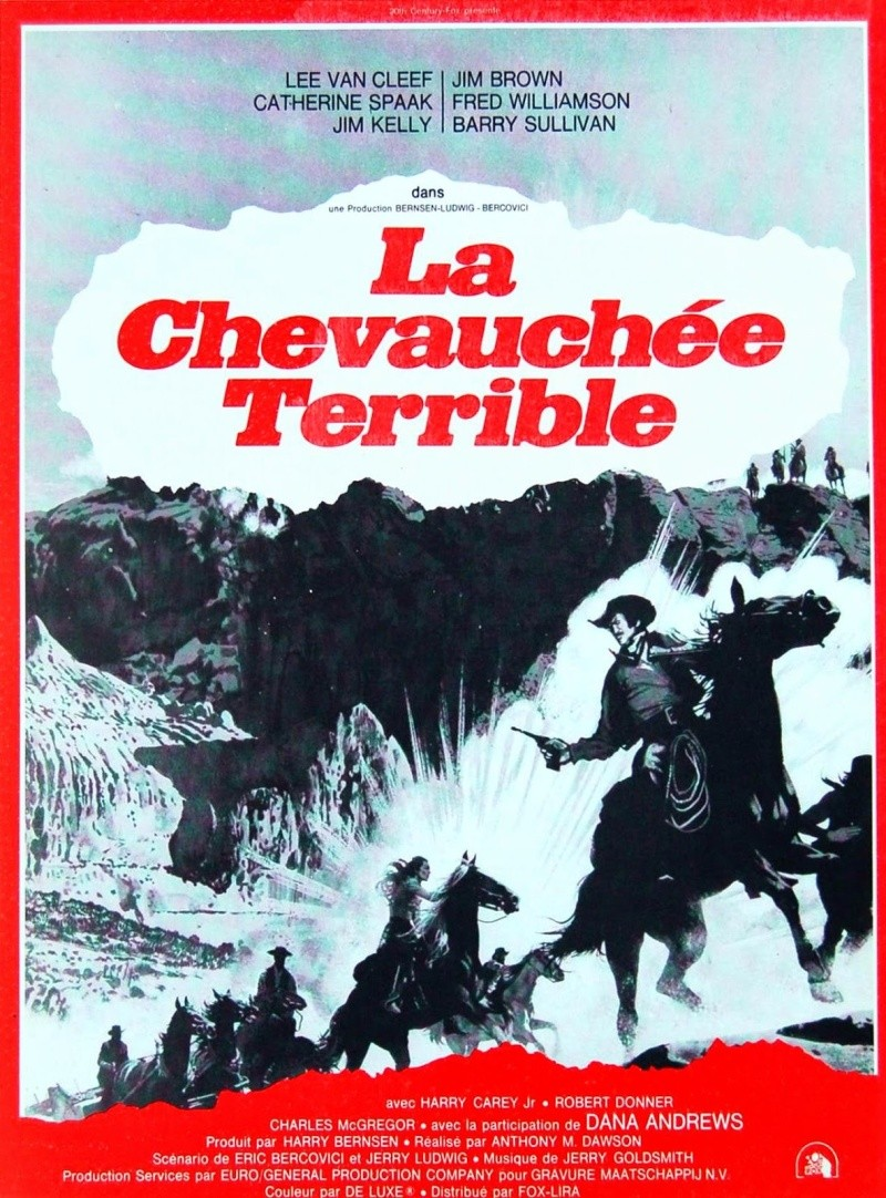 La Chevauchée Terrible - Take a Hard Ride - 1975 - Antonio Margheriti  [ Anthony M. Dawson ] 01h10