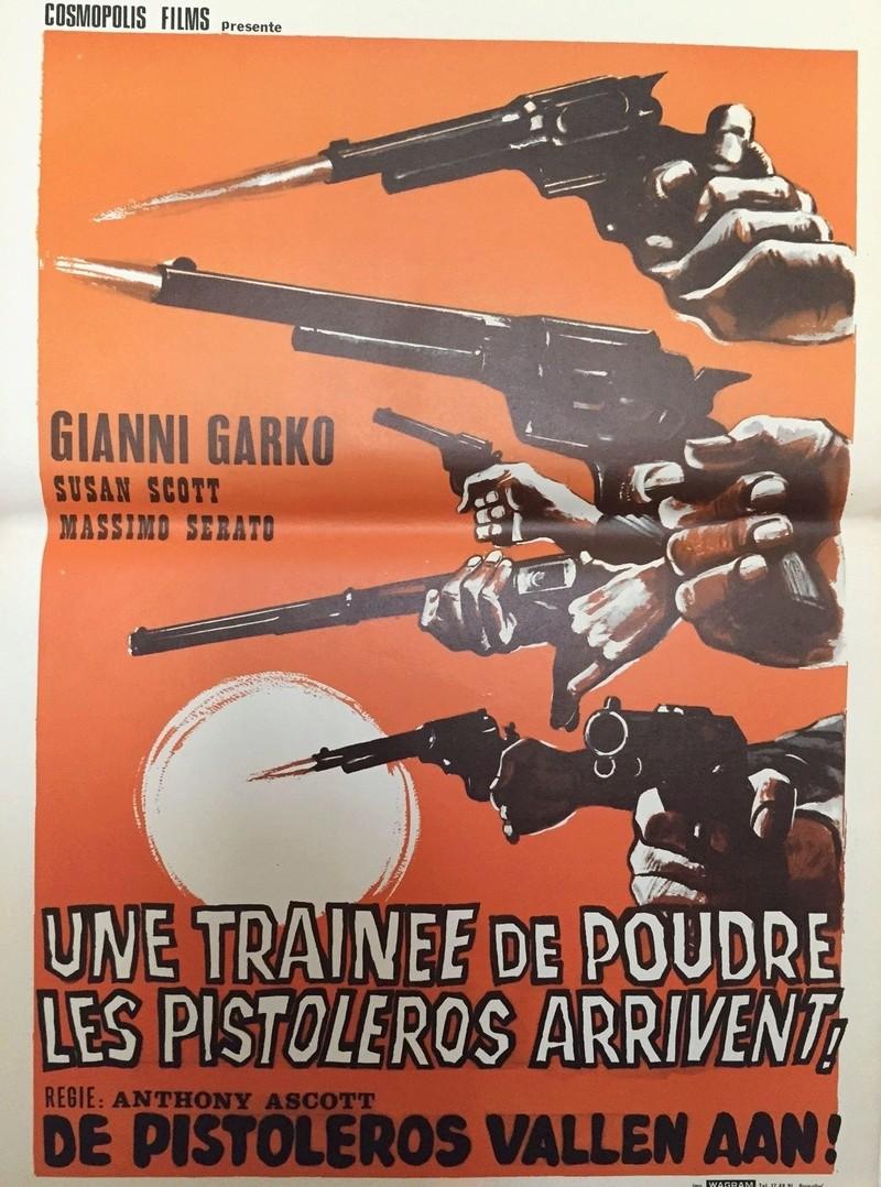Une trainée de poudre... les pistoleros arrivent ! Una nuvola di polvere... un grido di morte... arriva Sartana de Giuliano Carnimeo, 1971 10466810
