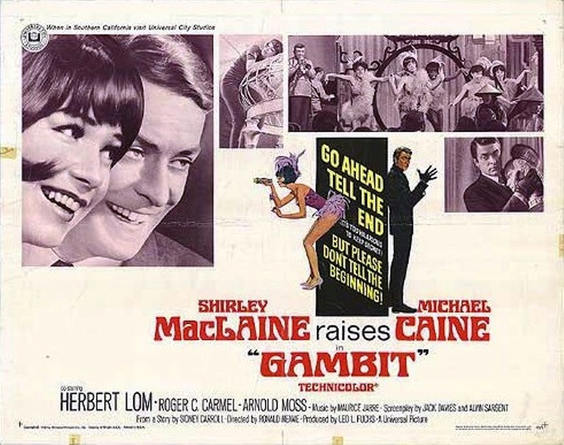 Un hold-up extraordinaire. Gambit. 1966.  Ronald Neame. 4ceb7d10