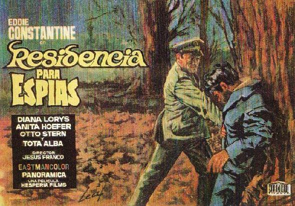 Ça barde chez les mignonnes. Residencia para espías. 1966.  Jesús Franco. Ca_bar11