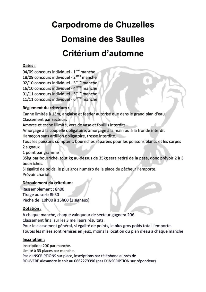 Critérium d'automne du carpodrome de chuzelles 2016 Criter10