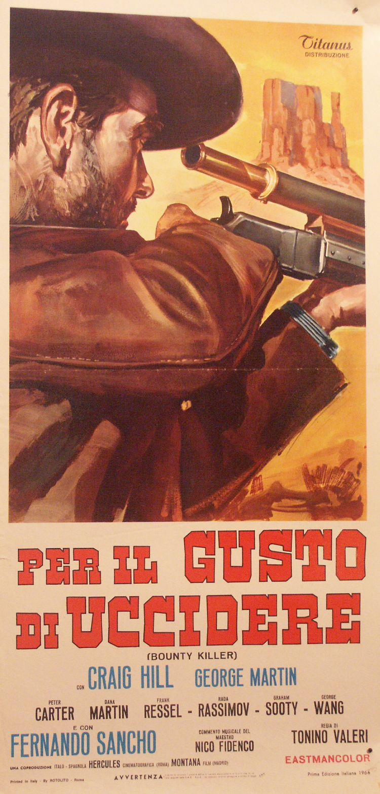 Lanky, l'homme à la carabine – Per il gusto di Uccidere - Tonino Valerii - 1966 Pict0210