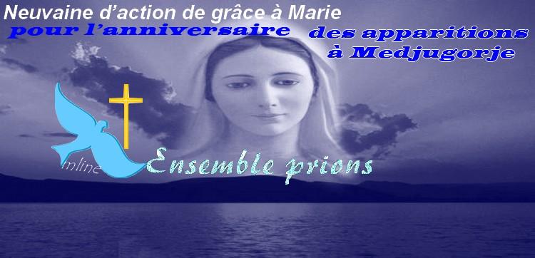Neuvaine d'action de grâce à Marie pour l'anniversaire des apparitions à Medjugorje Medj10
