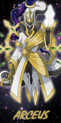 Arceus, the MJ