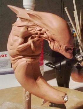 Alien Queen foetus 1:1 312