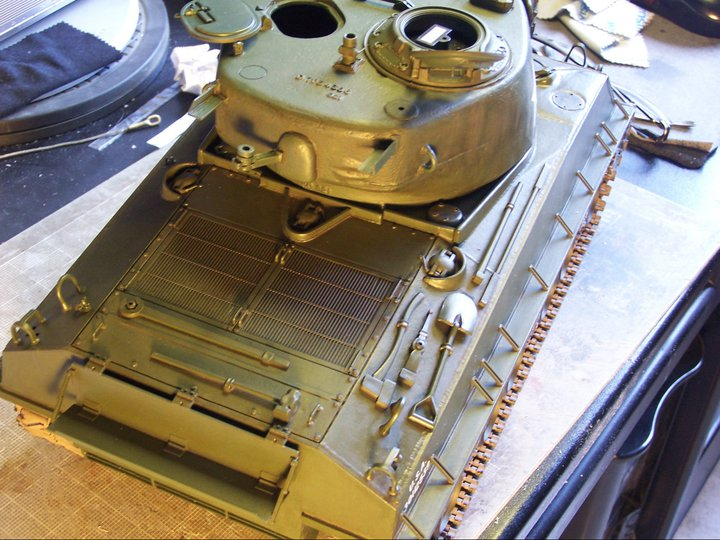 Tamiya sherman T-66 turret su ebay 66325_10