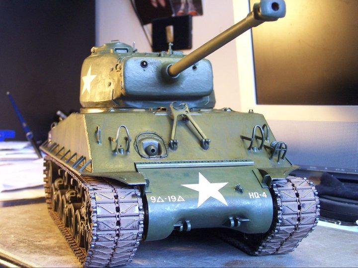 Tamiya sherman T-66 turret su ebay 68864_10