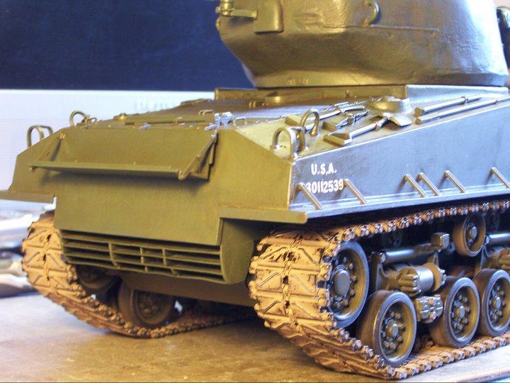 Tamiya sherman T-66 turret su ebay 69379_10
